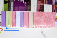 10*7cm High Quality Credit Card Envelope, Businees Envelope, Wedding Envelope, 10 Colors For Your Choice. Flower Embossed.