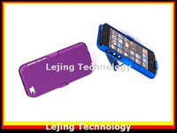 DHL Free shipping 50pcs/lot Belt clip holder Hybrid case for iphone 5