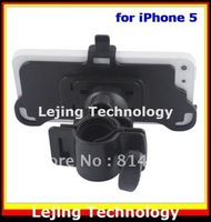 DHL free shipping 500pcs/lot Bicycle Bike Mount Holder for iphone 5, bike cell phone holder