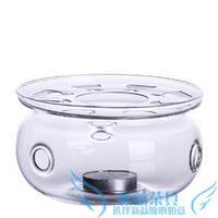 Teapot glass tea set flower pot heated base warm tea candle glass pot heated device