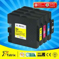 HK Free Shipping , 4-PK  PIGMENT Ink Cartridge GC31 GC 31 for RICOH GC 31 GC31 Ink Cartridge for RICOH GX-E7700 E5500