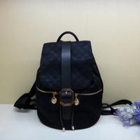 2013 da886-0639 cowhide waterproof backpack women's handbag