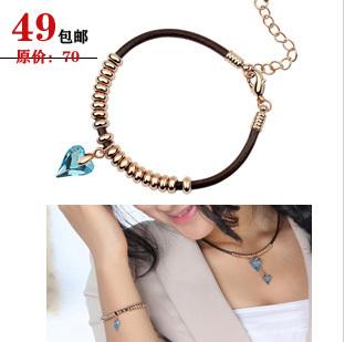 Female horizon crystal bracelet female fashion vintage girlfriend birthday present gifts(China (Mainland))