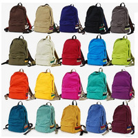 Hot selling Anello casual backpack LOTTE solid color book bags multi color canvas backpack  new