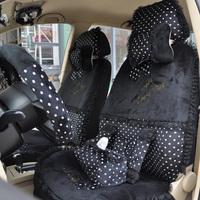 Regal 2013 car seat covers bow plush winter car seat cover polka dot cartoon