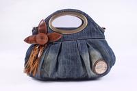Free shipping fashion ladies jeans handbag,women denim shoulder bag,brand handbag,designer mult-fundtion handbag,casual handbag