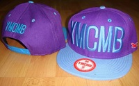 Ymcmb hat adjust baseball cap flat hat hiphop cap hip-hop hat bboy hat