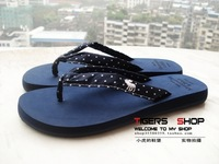 Onta cloth tape flip flops summer Women stuffies beach slipper slippers comfortable anti-slip soles