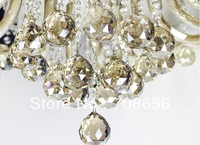 102pcs 30MM CHAMPAGNE GLASS CRYSTAL BALL CHANDELIER PRISM PENDANT