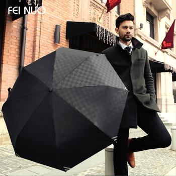2014 High quality Luminous Men fully-automatic folding umbrella beach brand rain umbrella Free shipping