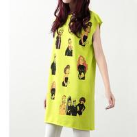 Женская футболка 2013 summer short-sleeve loose batwing sleeve t-shirt plus size maternity cartoon short-sleeve top summer