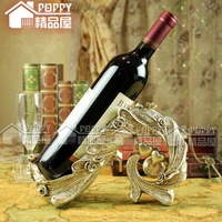 Free Shipping! Home accessories fashion resin craft wedding and housewarming gifts supplies wine rack