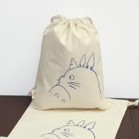 2014 New Sale Closet Organizer Home Garden Totoro Travel Socks Underwear Beam Storage 100% Drawstring Bag Handmade Items 2e04e