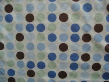 Diy fabric blue circle+free shipping