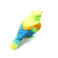 Plastic Sound Voice Control Activate Chirping Singing Bird Funny Toy Gift K5BO