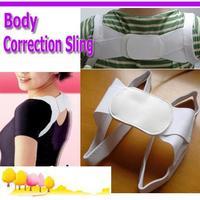 5pc/lot Posture Corrector Beauty Body Back Support Shoulder Brace Band Belt