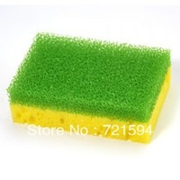Free Shipping 10*6.5*3cm Filter Cotton/Algae Spirogyra Wash Bowl Brush/Cleaning Brush/ Clean Sponge/Multi-functional Sponge