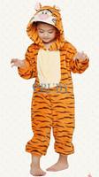 Unisex Children's Fashion Onesies Cosplay Costumes Animal Pajamas Christmas Gift For Kids Cartoon Cute Pyjamas,Jumping Tiger