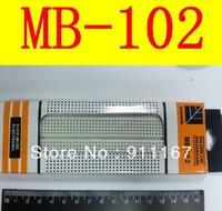 FREE SHIPPING 5pcs Breadboard 830 Point Solderless PCB Bread Board MB-102 MB102  Breadboard MB-102 Prototype Bread Board