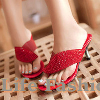 Free shipping,2013 fashion summer slippers,Women's sandals,Flip Flops,High heel sandals,high heels,woman's shoes,3 colors
