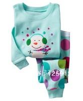 Free shipping ,top quality 6set /lot,100% cotton baby pajamas set,Children Sleepwear,Spring /autumn New style Children Pyjamas