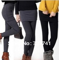 Free shipping 2013 fashion new cheap Render girls pants fashion female sexy leggings for women with skirt free Size