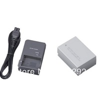Free Shipping NB-7L 7.4V/1050mAh Rechargeable Li-ion Battery +  CB-2LZE Charger AC100V-240V 50/60Hz For Canon Camera