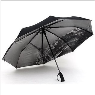 Recommended!! Automatic umbrella with Torch Lights