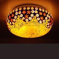 Bohemia ceiling light lamps glass lamp child bedroom lights balcony lighting free shopping