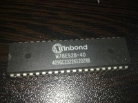 Mcu w78e52b-40 78e52 winbond dip