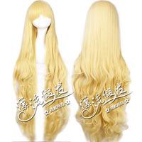 Drifting wig east project - fog rain magic sand - 120 - cm blonde wig modelling