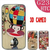 Case for HTC One X s720e coloured drawing or pattern cartoon ultra-thin fashion mobile phone protective case shell free shipping