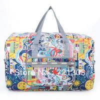 Travel bag women's handbag luggage personalized all-match large capacity handbag folding extra large
