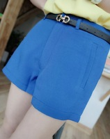 2013 summer all-match brief elegant ol solid color blazer pants shorts female