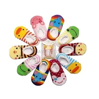 Baby Childrens Socks Slippers Anti Non slip Cute GH hv3n