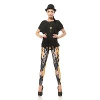 Hot  women's leggings snakeskin print legging dk044