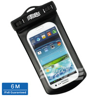 Waterproof Pouch Dustproof Case For Samsung Galaxy S3 for I9300 i9308 include necklanyard Armband Retail packaging Free Shipping