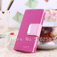 Lychee FILP High Quality Make Mate Leather case cover for ip Sony Ericsson Xperia Arc X12 LT15i LT18i Free shipping