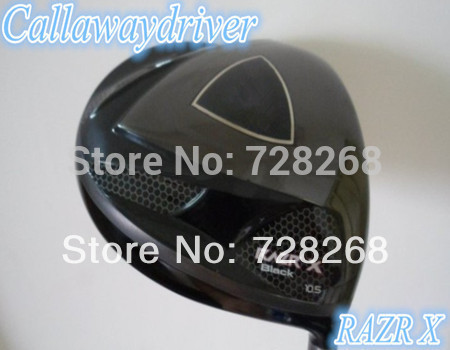 Golf Factory RAZR X Golf Driver Black Colour Flex-R/S Top Quality 1PC Hot Sale(China (Mainland))