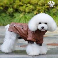 Autumn and winter dog wadded jacket british style wadded jacket teddy clothes winter pet clothes dog leather clothing