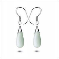 925 pure silver earring drop earring Women . fashion - eye drop earrings