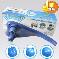 Double slider ruifeng massage device dolphin infrared massage device neck massage stick electric