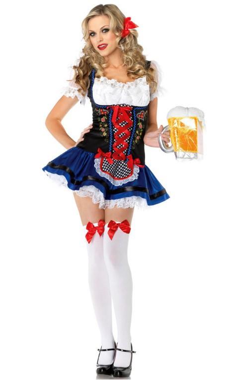 Немецкое пиво горничная Октоберфест дамы fancy