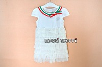 Free shipping Wholesale baby girl summer dress  girls summer clothes  chiffon dress girl dresses 12pcs/lot