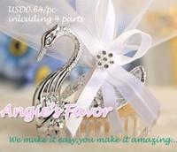 High quality elegant swan favor Box/Wedding Favor Box/Wedding Favour Box/wedding supplies/wedding favor