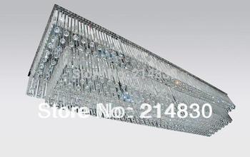 Engineering crystal lamp, Large crystal lamp, Hotel and Villa crystal lamps, Rectangular crystal lightings, Wholesale
