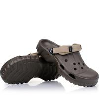 Slip-resistant men's mules sandals hole shoes  clog