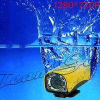 8pcs/lot HD 720P 30m IPx8 Waterproof Sports MINI DV Camcorder 5.0MP CMOS sensor camera with 120 degree wide-angle Motion Detect