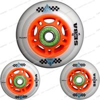 120-metre-tall seba roller wheels flat hanawa wheels roller skates 120-metre-tall wheels 120-metre-tall frm bearing shaft set