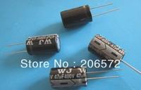 400V 47UF 16x25 DIP  electrolytic capacitors